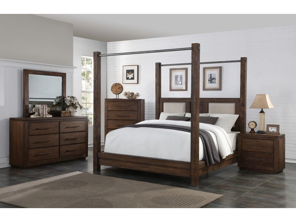 Heartstone Queen Bedroom Set Mattress Free