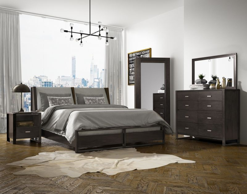 Heights Queen Bedroom Set, Pillowtop Mattress FREE