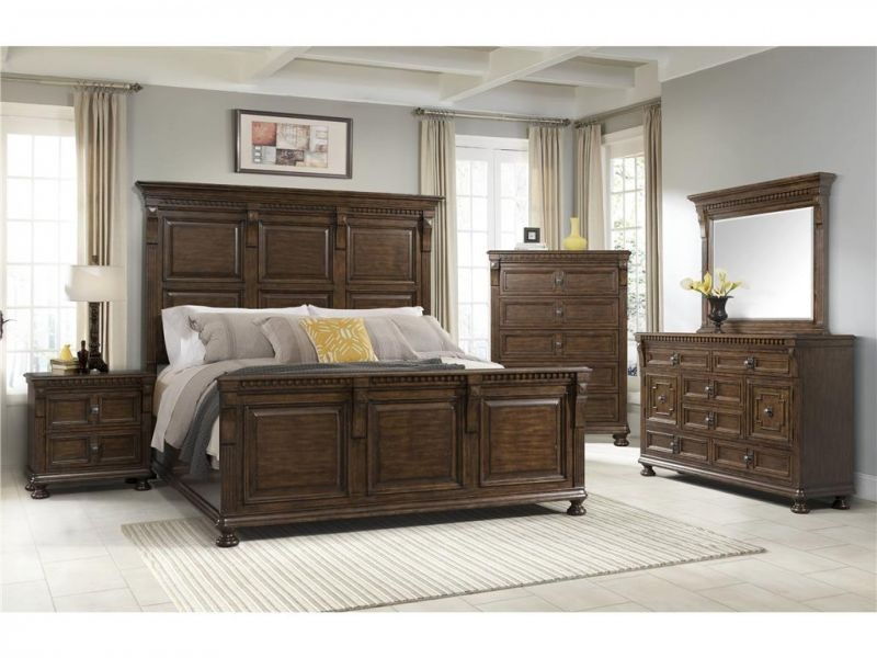 Delightful Hendrix King Bed, Chest FREE