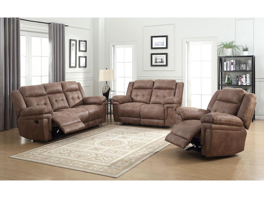 Steve Silver Living Room Ian Reclining Sofa And Loveseat