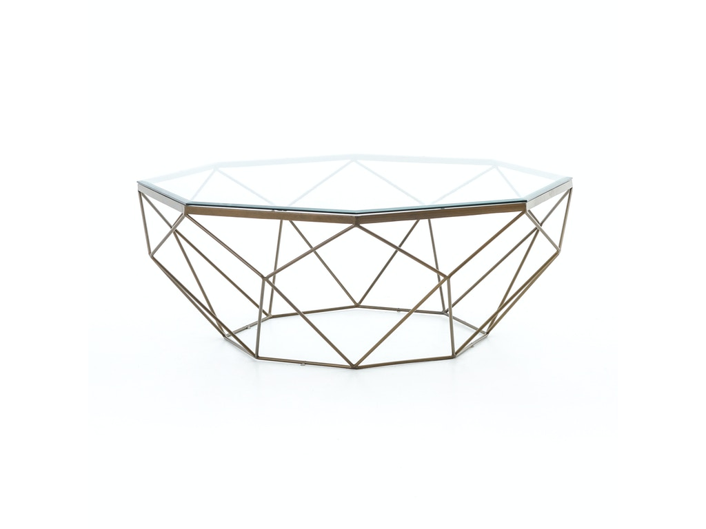 Four hands living room geometric coffee table antique brass four hands geometric coffee table antique brass imar 54 brs geotapseo Gallery
