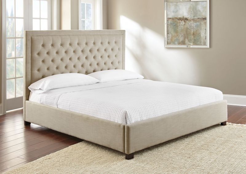 Charmant Steve Silver Isadore Sand Queen Bed