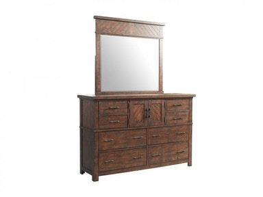 Jax Dresser and Mirror