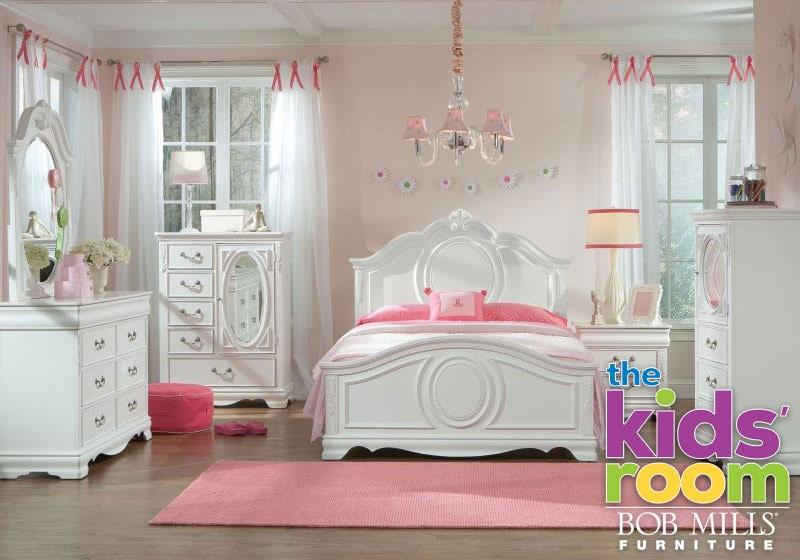 Beau Wellington Jessica Twin Bedroom Set Mattress FREE