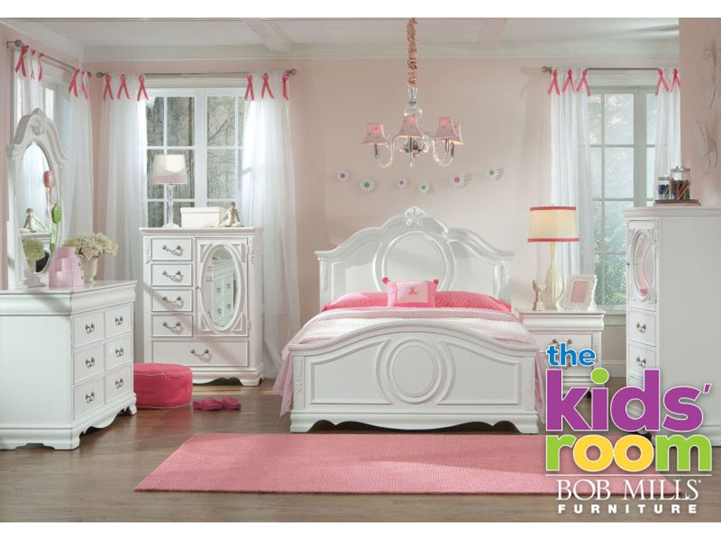 Jessica Twin Bedroom Set Mattress Free