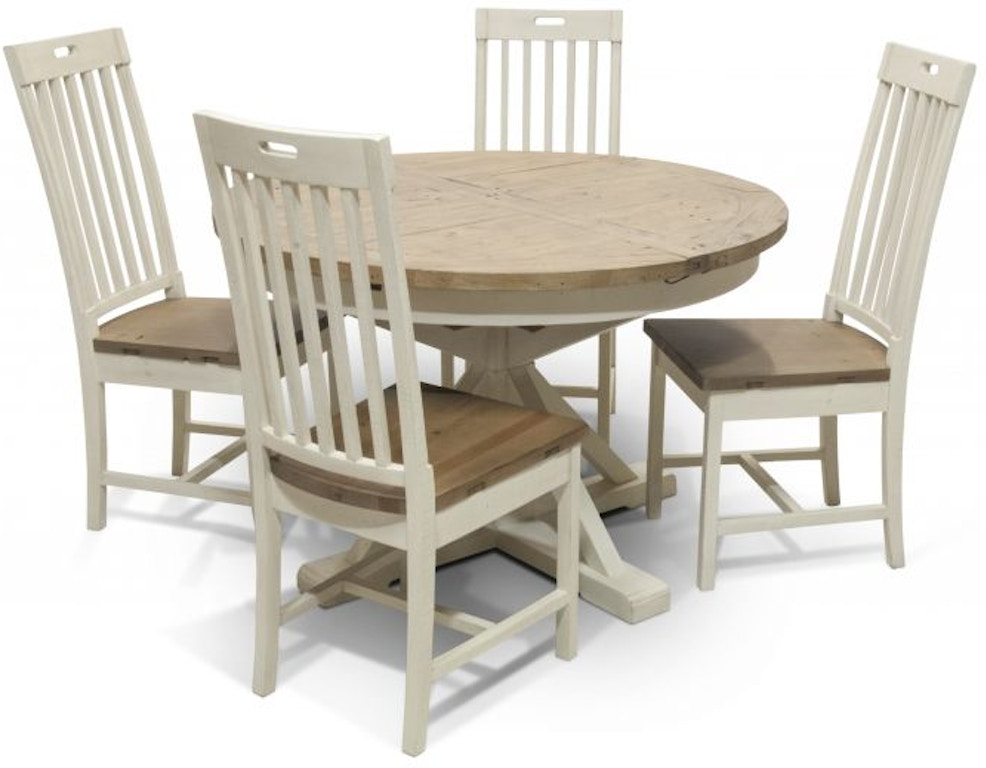 Four Hands Dining Room Jolie Dining Table And Four Chairs - Dining room table for four