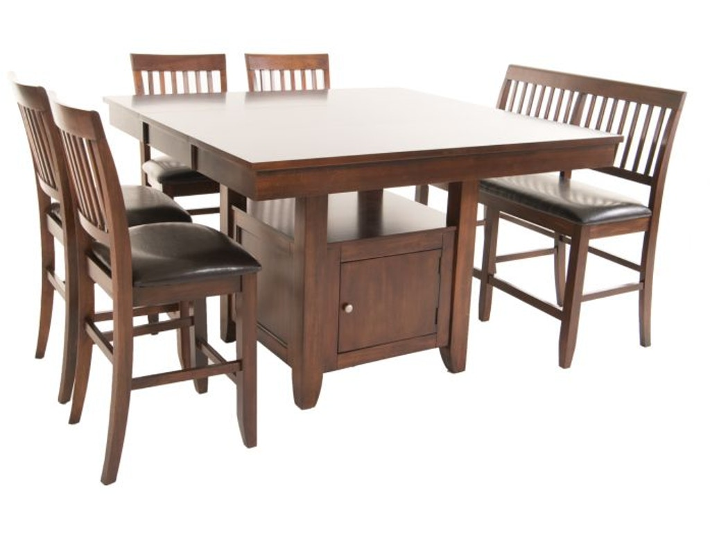 New Classic Kaylee Pub Table 4 Chairs Bench Free