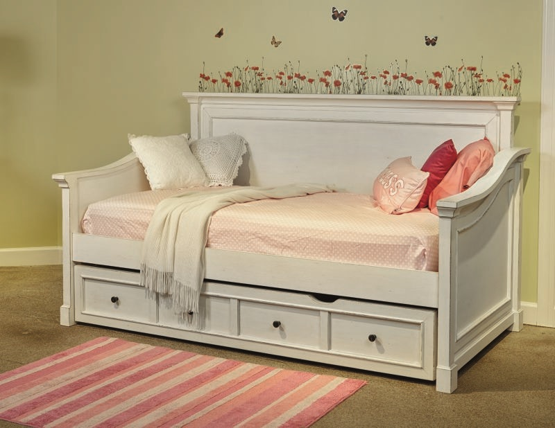 folio 21 youth bedroom stoney creek storage trundle daybed mattress