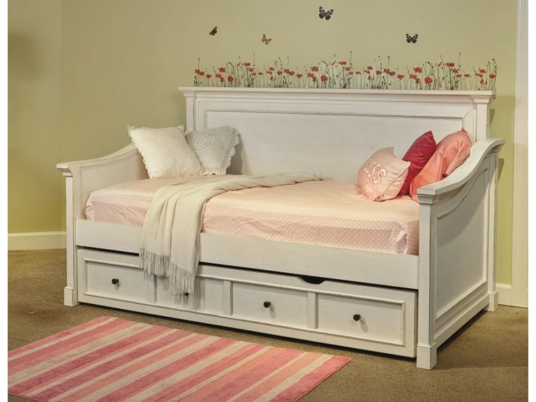 Folio 21 youth bedroom stoney creek storage trundle daybed for Stoney creek bedroom set