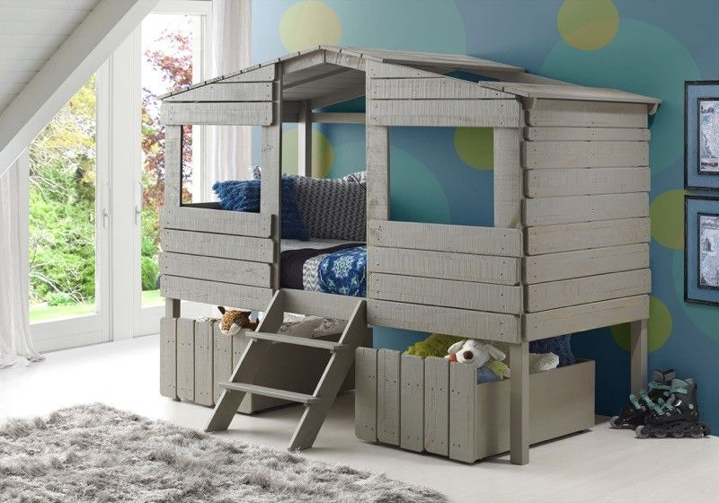 discovery furniture youth bedroom timber treehouse loft bed