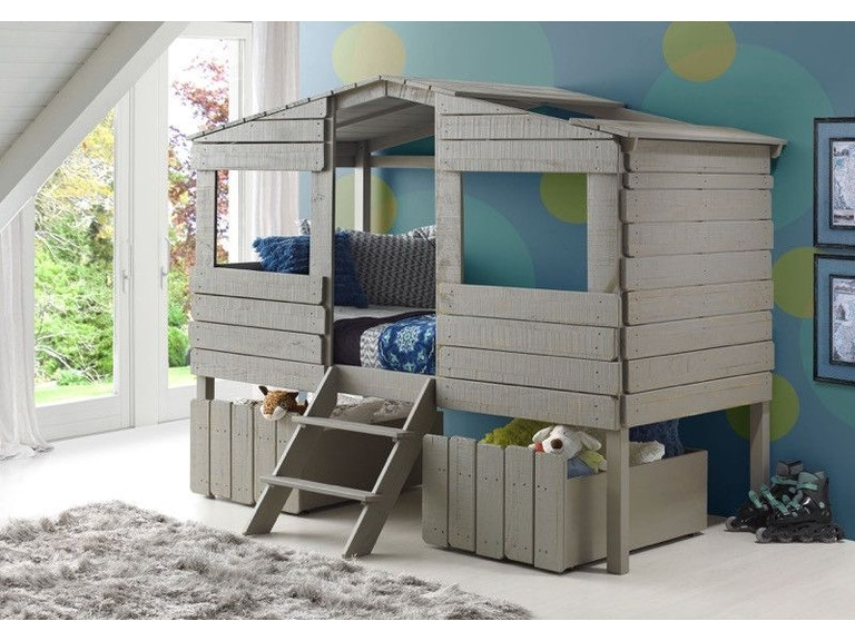 Discovery Furniture Youth Bedroom Adrian Twin Over Full Loft Bed Bedding FRE