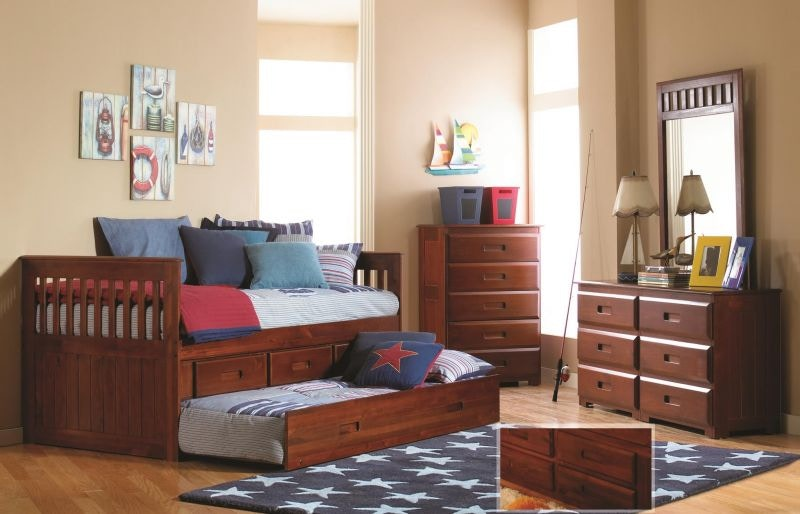 Discovery Furniture Youth Bedroom Merlot Storage Unit