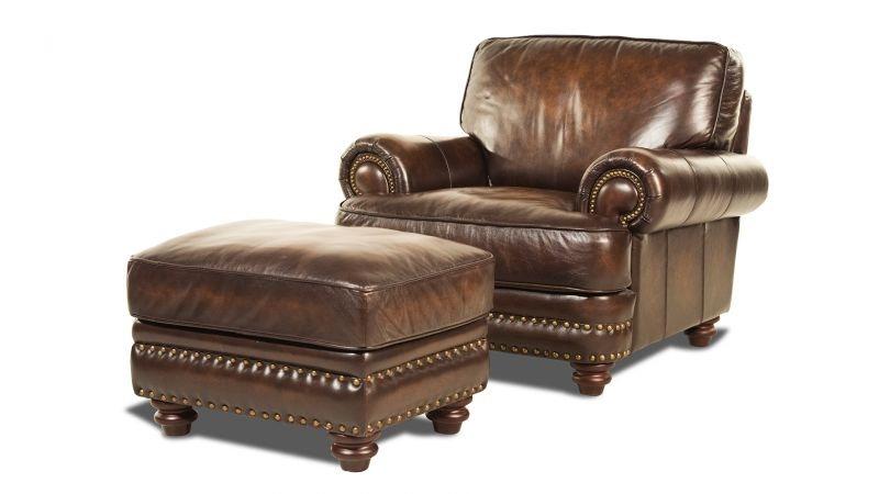 Baker Leather Chair LEA CHAR BAKER