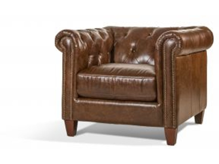 Futura Cigar Leather Chair Lea Char