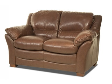 Cullman Leather Loveseat
