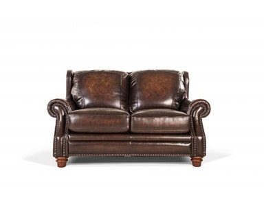 Frankford Leather Loveseat