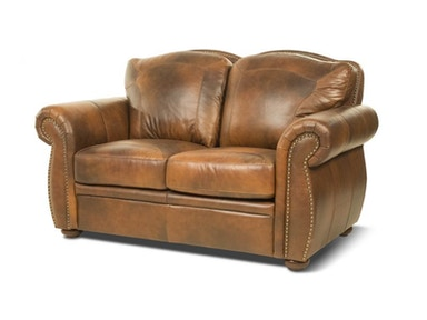 Marco Leather Loveseat