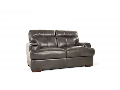 Pacific Leather Loveseat