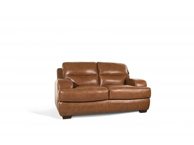 Sanibel Leather Loveseat