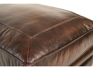Frankford Leather Ottoman