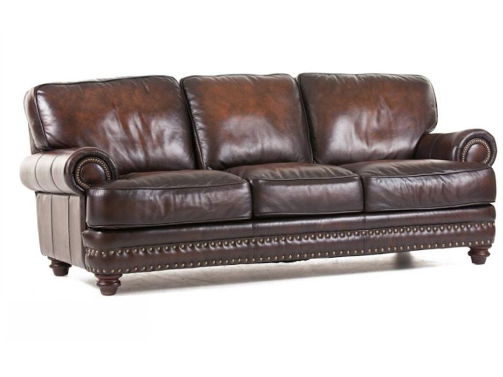 Futura Leather Sofa Futura Cordovan Leather Sofa Jordan S