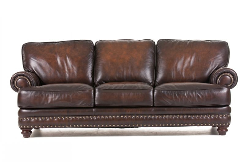 Baker Leather Sofa LEA SOFA BAKER
