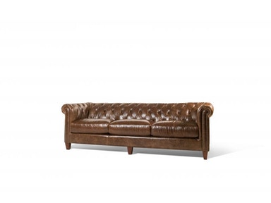 Cigar Leather Sofa