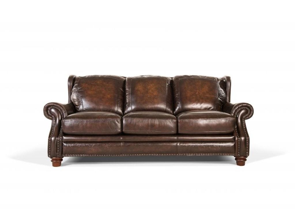 Futura Living Room Frankford Leather Sofa