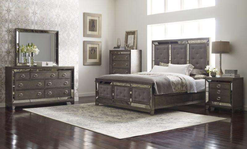 Lenox Queen Bedroom Set, Pillow Top Mattress Free