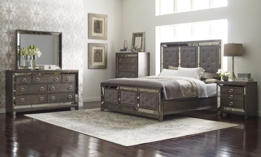 Avalon Lenox Queen Bedroom Set, Pillow Top Mattress Free