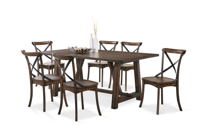 Craft Designs Dining Room Lindsey Dining Table and 4 Chairs