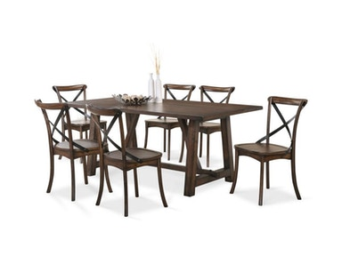 Lindsey Dining Table and 4 Chairs