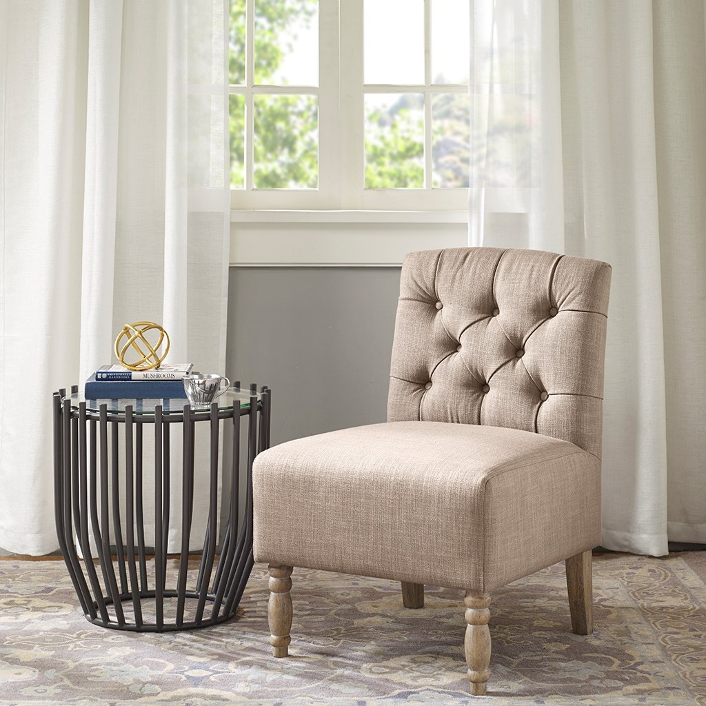 Awesome Beige Accent Chair Style