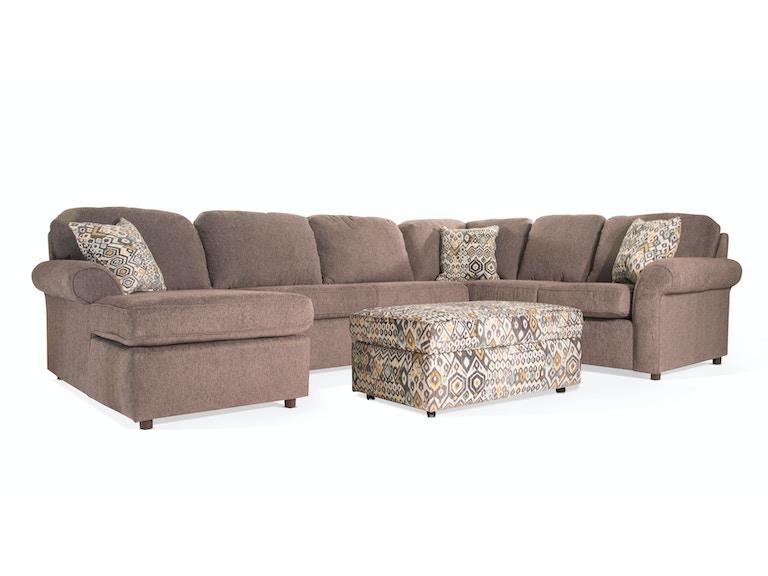 England Living Room Marcia Storage Ottoman UPH OTTO MARCIA At Bob Mills Furniture
