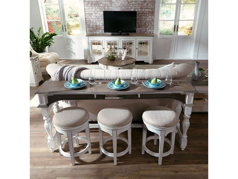 Swell Marlow Bar Console And Three Swivel Stools Pabps2019 Chair Design Images Pabps2019Com