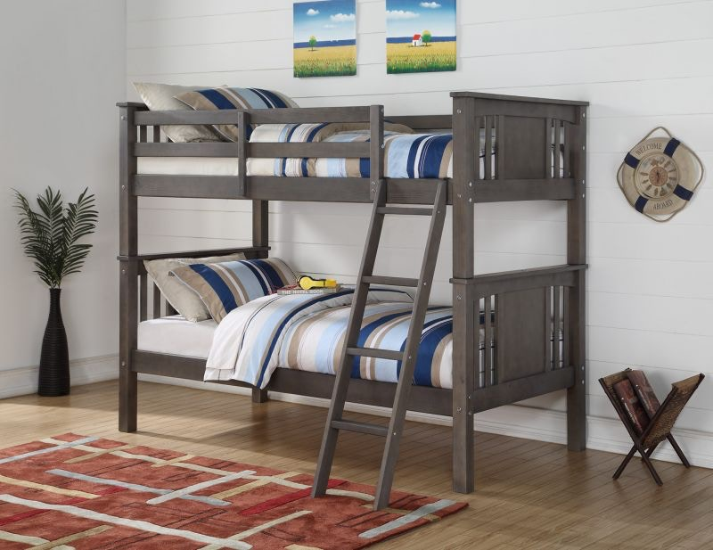 discovery furniture mason twin over twin bunk bed mattresses free