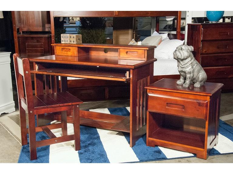 Merlot Student Desk