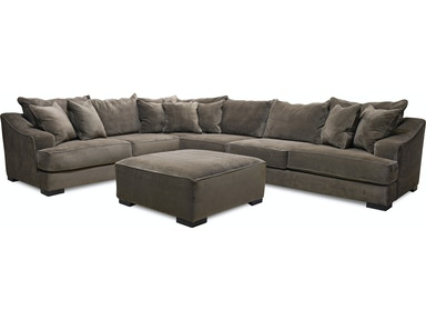 Monterrey Gray Sectional Cktl Otto 55 34 Tv Free