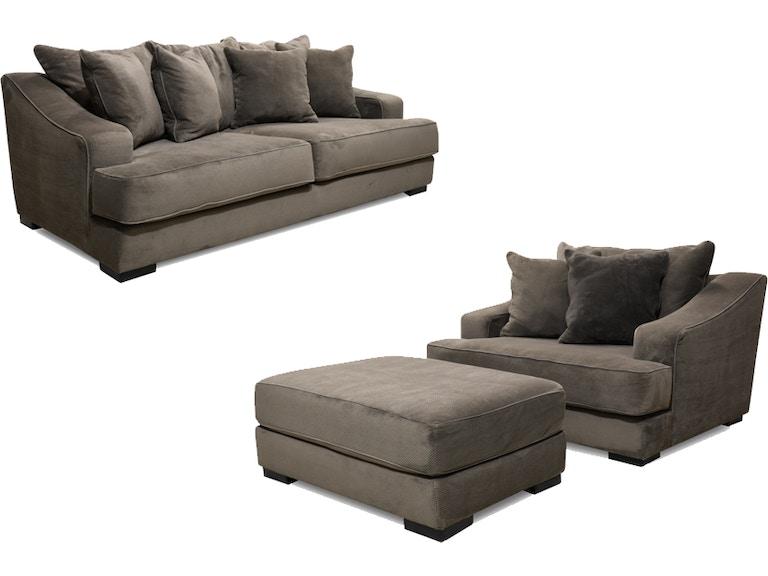 Living Room Monterrey Sofa Chair And Ottoman 55 Tv Free 56monterrey