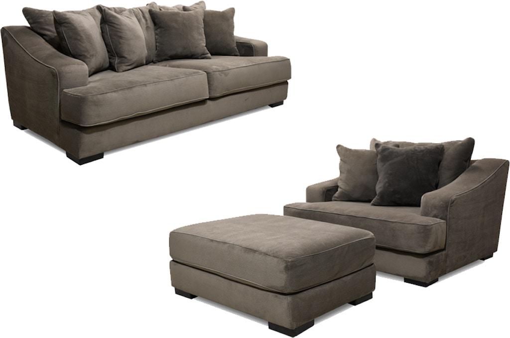 Wondrous Monterrey Sofa Chair And Ottoman 55 Tv Free Customarchery Wood Chair Design Ideas Customarcherynet