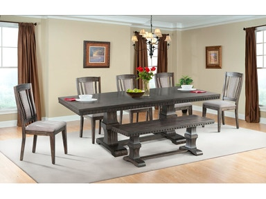 Morrison Dining Table 4 Chairs BenchServer FREE