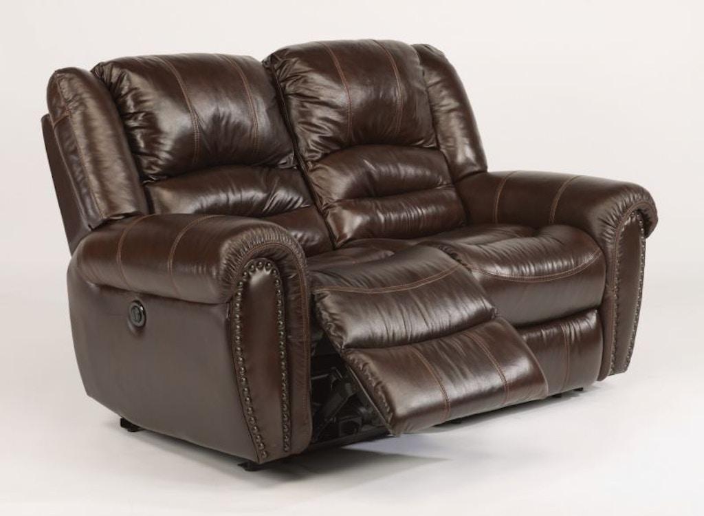 Terrific Bricktown Power Reclining Leather Loveseat Inzonedesignstudio Interior Chair Design Inzonedesignstudiocom