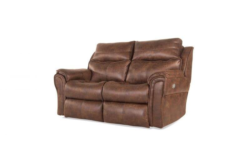 southern motion allure power reclining loveseat power headrest