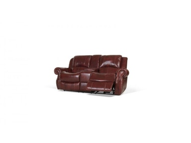 Softy Leather Power Reclining Loveseat