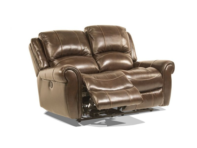 Caselli Fine Leather Walnut Leather Power Reclining Loveseat MOT-LOVE-WALNUT