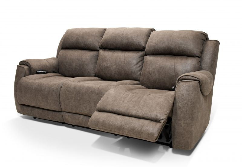 Southern Motion Alexa Power Reclining Sofa Heat And Air Massage