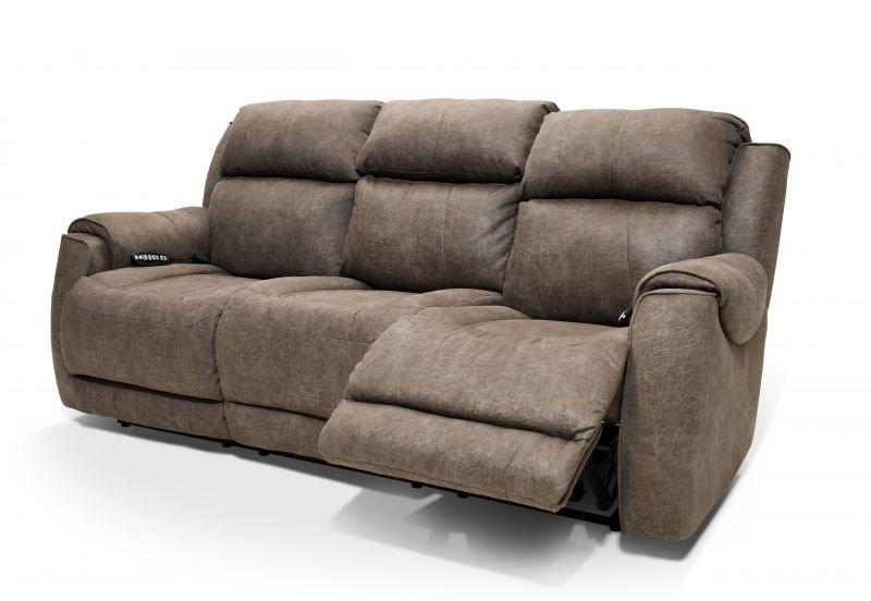 Southern Motion Alexa Power Reclining Sofa, Heat And Air Massage MOT SOFA  ALEXA