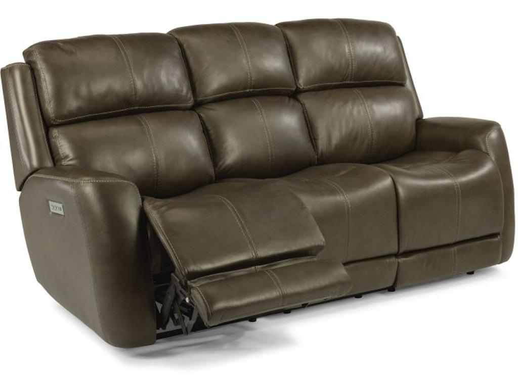 Allen Headrest And Lumbar Reclining Sofa Mot