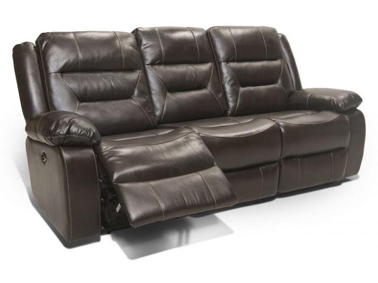 Corinthian Etheridge Leather Reclining Sofa Mot