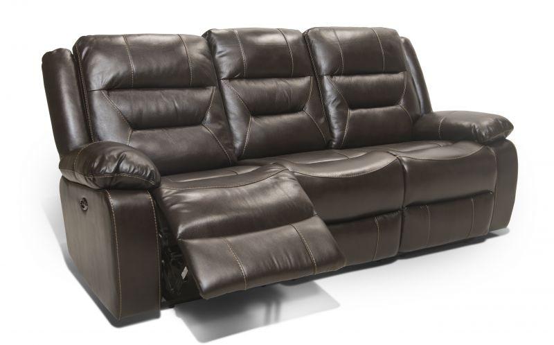 Attirant Corinthian Etheridge Leather Power Reclining Sofa MOT SOFA ETHERIDGE
